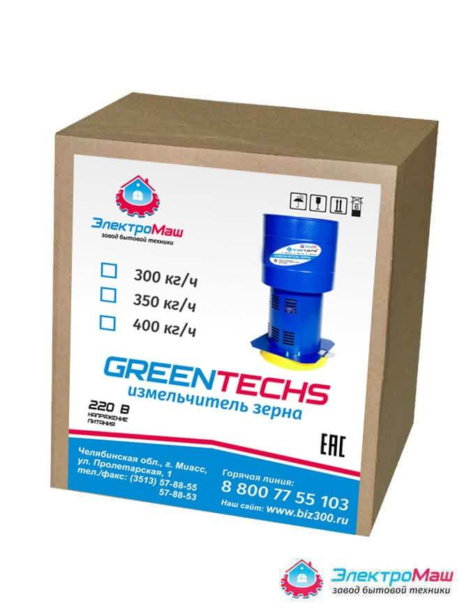 Роторная зернодробилка Greentechs 300 кг/ч