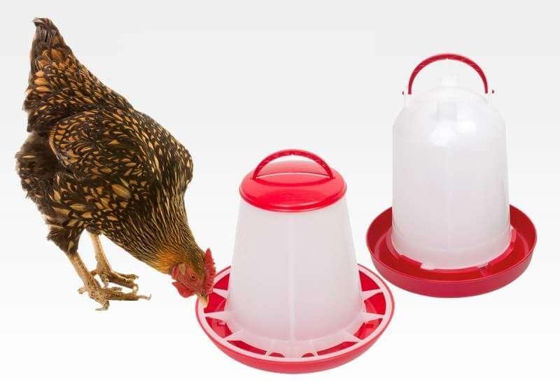 Большая поилка для кур